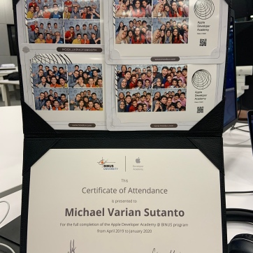 Certificate of Attendance and a bit of Photobooth Picture to celebrate our togetherness